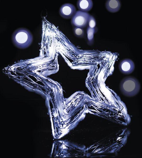 Emos Osvětlení Sněhová hvězda 20 LED