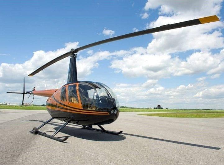 Poukaz Allegria - let vrtulníkem nad Prahou