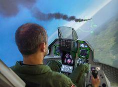Poukaz Allegria - simulátor F16 s armádním pilotem - 30 min. Praha