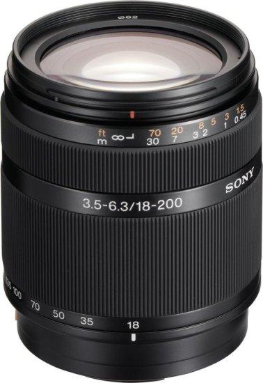 Sony objektiv SAL-18–200 mm F 3,5–6,3