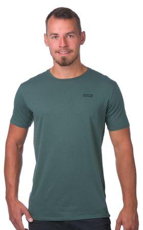 GLOBE férfi póló Sticker Tee L zöld