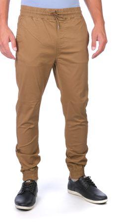 GLOBE moške hlače Goodstock Jogger 30 rjava
