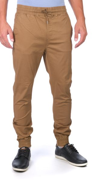 GLOBE pánské kalhoty Goodstock Jogger 30 hnědá
