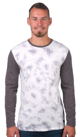 GLOBE pánské tričko Lindeman Ls Tee L biela