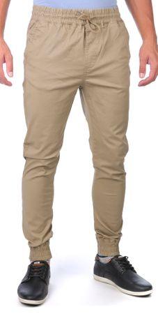 GLOBE pánské kalhoty Goodstock Jogger 32 béžová