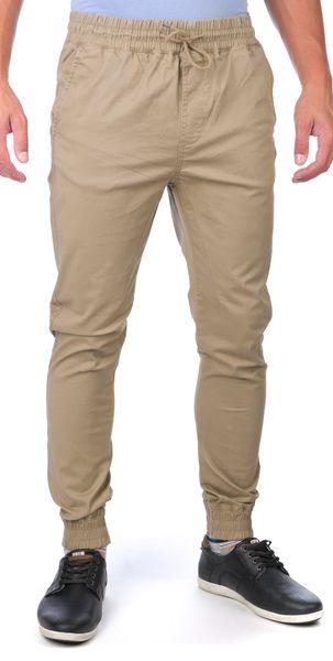 GLOBE pánské kalhoty Goodstock Jogger 30 béžová