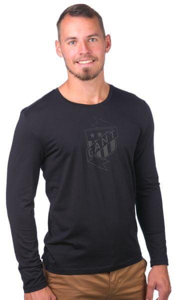 Gant pánské tričko S černá