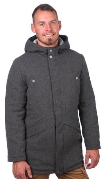 Pepe Jeans pánský kabát Joiner XXL šedá