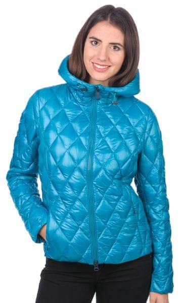 Geox dámská péřová bunda M modrá