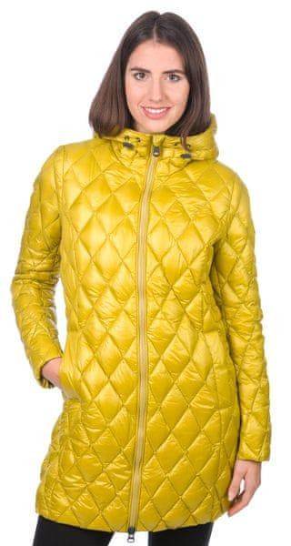 Geox dámský péřový kabát XXS žlutá