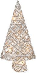 Metalac LED božično drevo, topla rumena