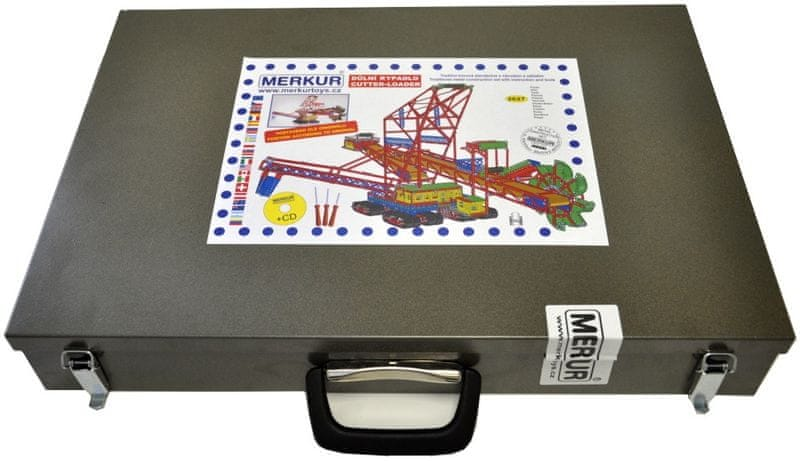 Merkur Maxi Důlní rypadlo v kufru