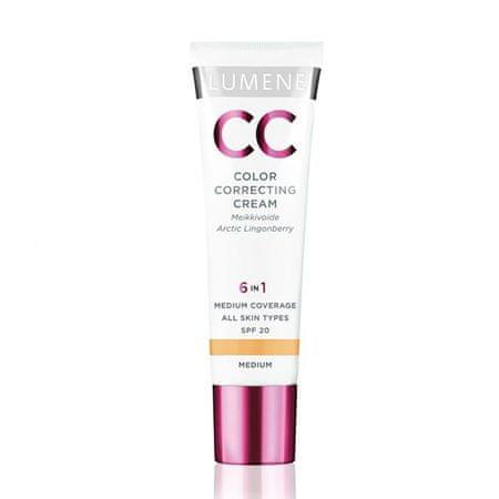 Lumene CC krem/rozświetlacz/korektor/podkład - 2 medium Classic