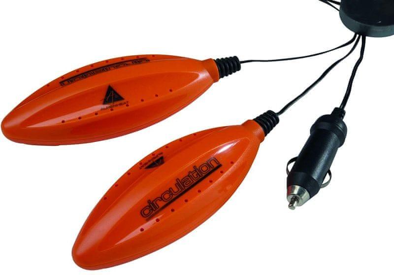 ALPENHEAT Circulation AD6 UV 12V (auto zásuvka) Oranžový - II. jakost