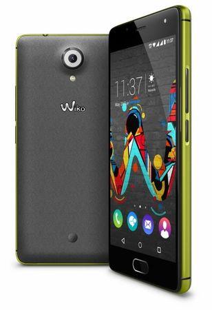 Wiko GSM mobilni telefon U-Feel 4G, 16+3GB, rumeno-siv