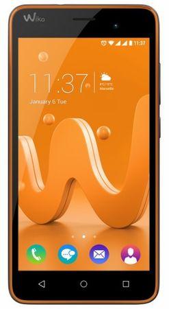 Wiko GSM mobilni telefon Jerry, oranžno-siv