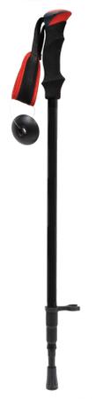 Pohodne palice Hill 3SC, črno-rdeče