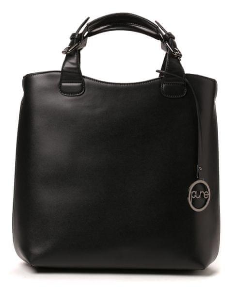 Pure London černá kabelka