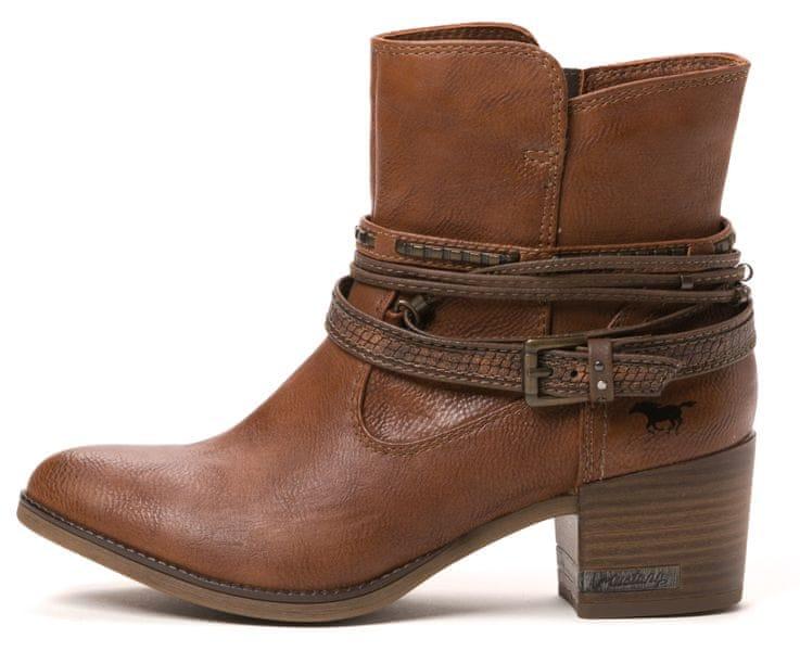Mustang dámská kotníčková obuv 39 hnědá