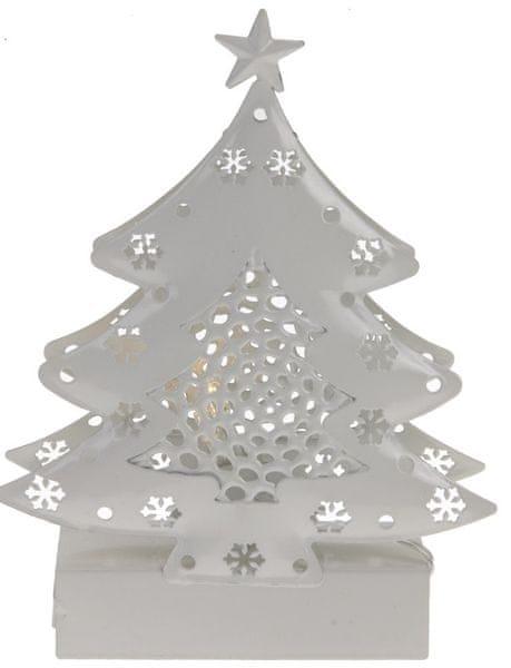 Metalac Svítící dekorace Strom s vločkama