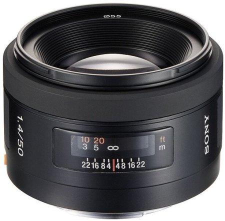 Sony objektiv SAL-50 mm F 1,4