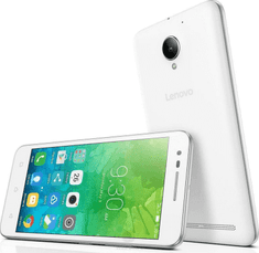 Lenovo mobilni telefon C2, bel
