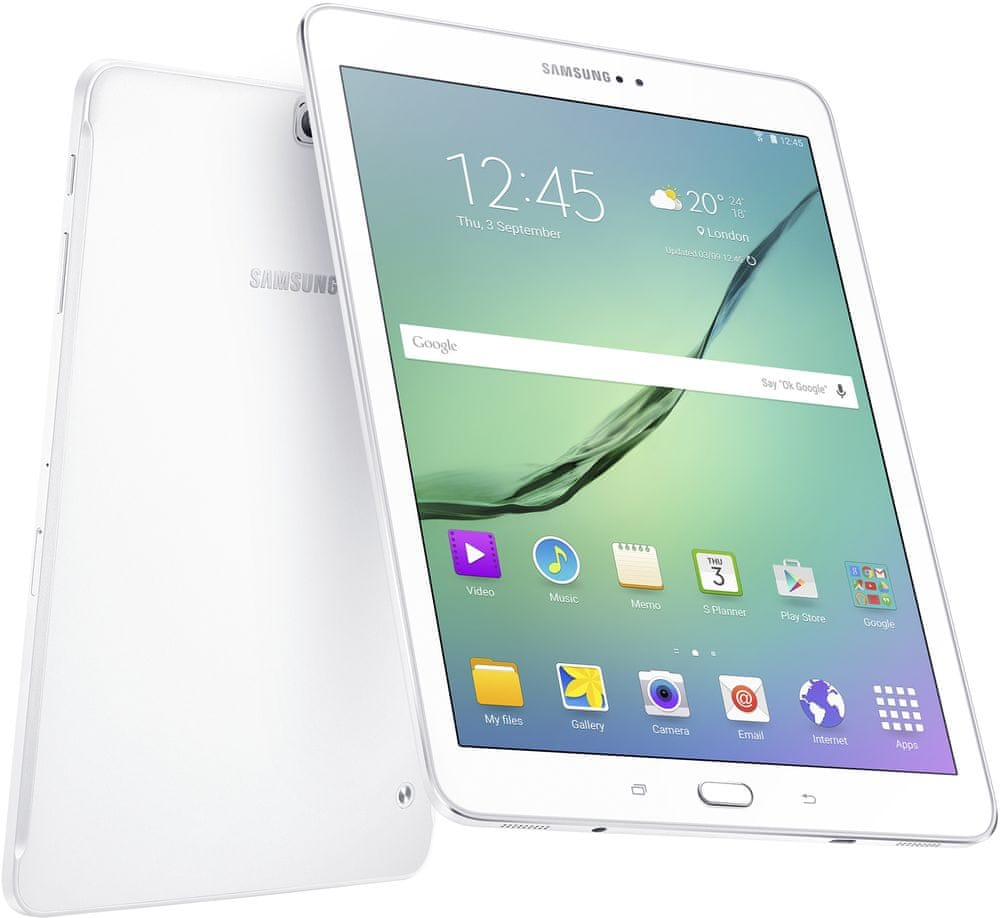 Samsung Galaxy Tab S2 9.7 VE (T813), Wi-Fi, 3GB/32GB, White (SM-T813NZWEXEZ)