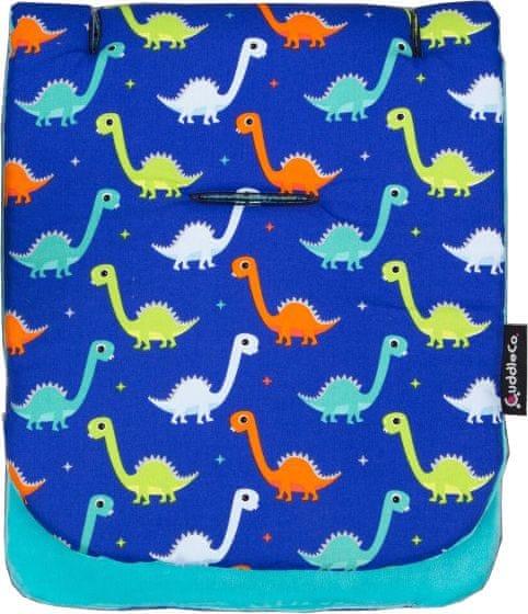 CuddleCo Paměťová podložka do kočárku, Dinosaurs