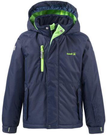 KAMIK jakna Hunter Solid Peacoat, modro-zelena, 116