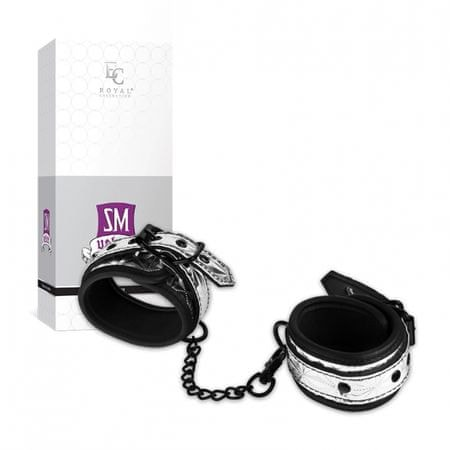 Putá na nohy - Ankle Cuffs Silver