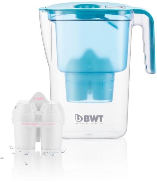 BWT filtrační konvice VIDA 2,6l, 2 filtry v balení modrá