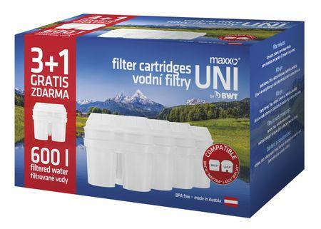 MAXXO Náhradní vodní filtry 3+1
