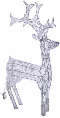 Metalac svetleči jelen, 40 LED