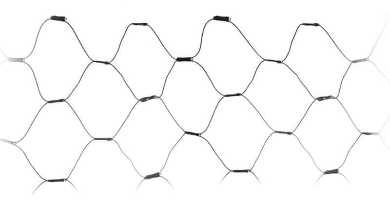 Metalac Retěz svítící síť 160 LED studená bílá