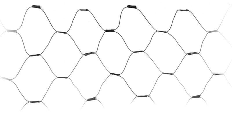 Metalac Retěz svítící síť 320 LED studená bílá