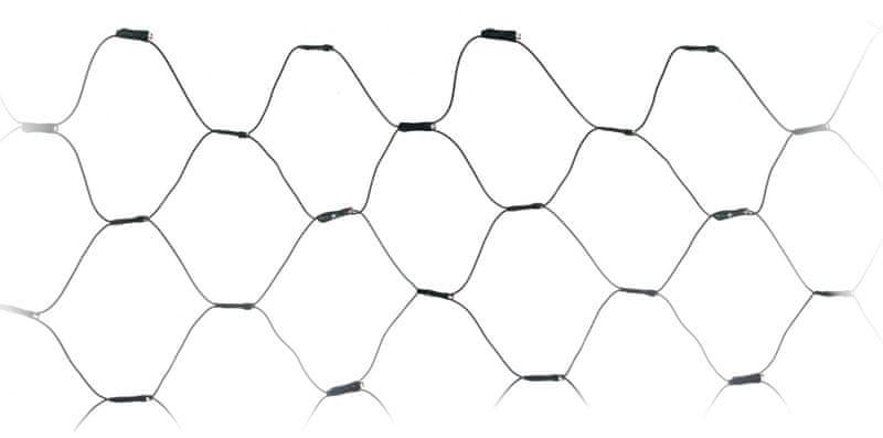 Metalac Řetěz svítící síť 320 LED teplá bílá