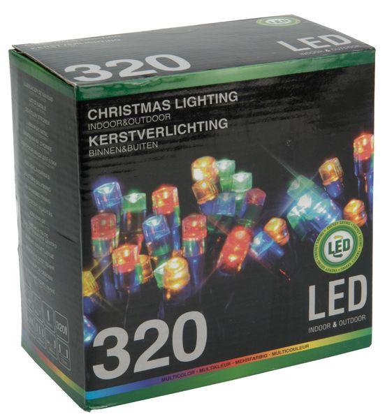 Metalac Svítící řetěz 320 LED multicolor