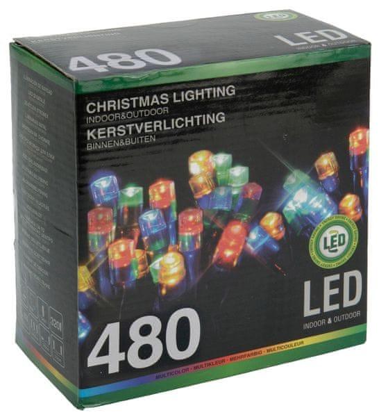 Metalac Svítící řetěz 480 LED multicolor