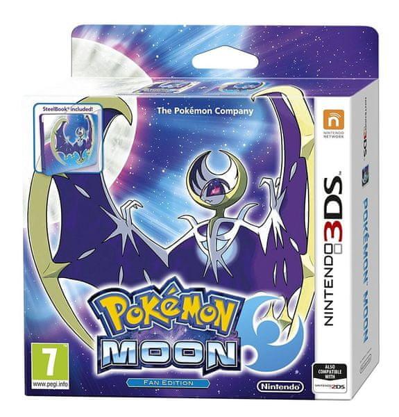 Nintendo 3DS Pokémon Moon Steelbook edition
