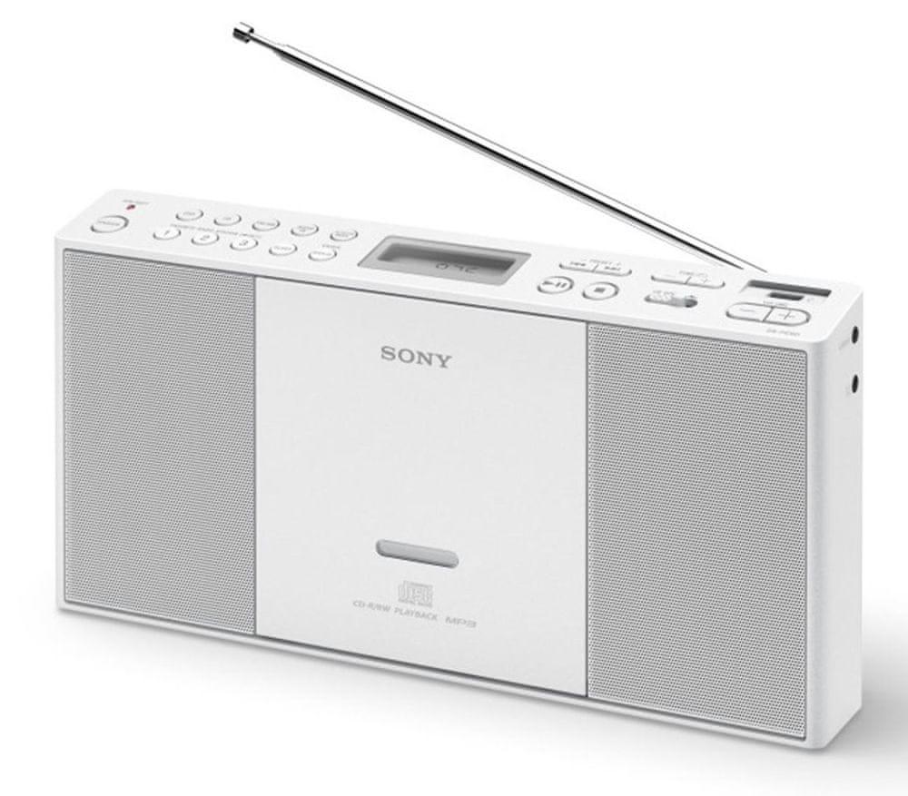 Sony ZS-PE60W, bílá