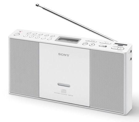 Sony prenosni radio ZS-PE60, bel