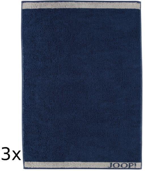 Joop! ručníky Decor 50x100 cm, 3 ks modrá