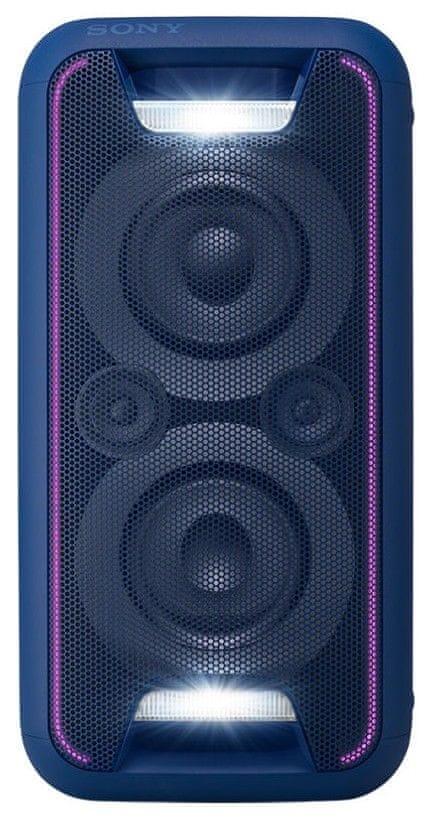Sony GTK-XB5L přenosný reproduktor, modrá
