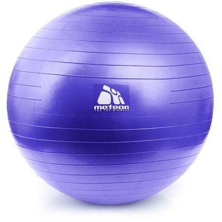 Meteor Piłka fitness violet 65 cm z pompką