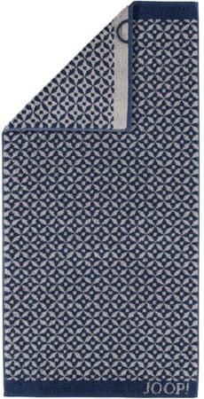 Joop! brisača Decor Allover 80x150 cm, modra