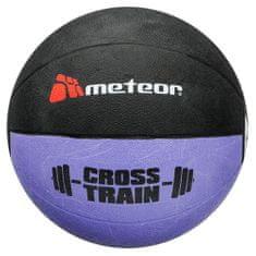 Meteor Piłka treningowa crossfit 1 kg fioletowa