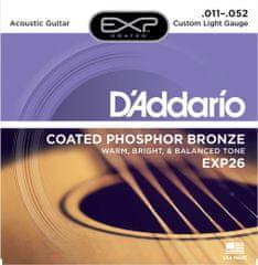 Daddario EXP26 Kovové struny pro akustickou kytaru