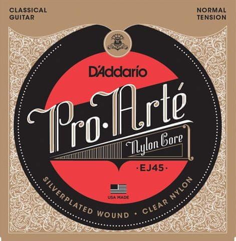 Daddario EJ45 Nylonové struny pro klasickou kytaru