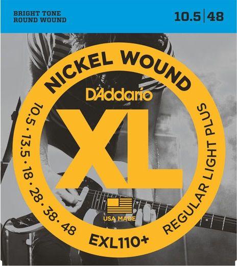 Daddario EXL110+ Struny pro elektrickou kytaru