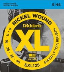 Daddario EXL125 Struny pro elektrickou kytaru